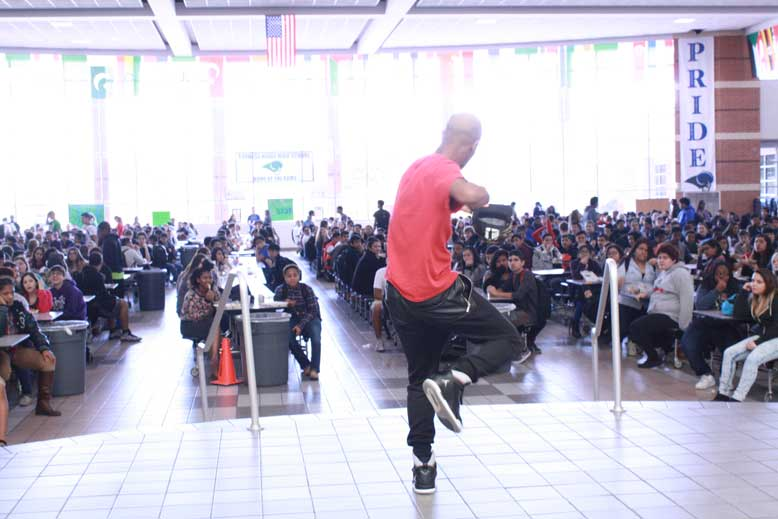 Students and staff pay tribute to Black History Month