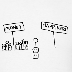 Easy wealth and happiness