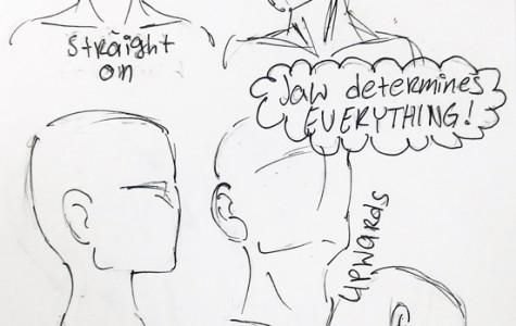 DIY: How to draw head profiles