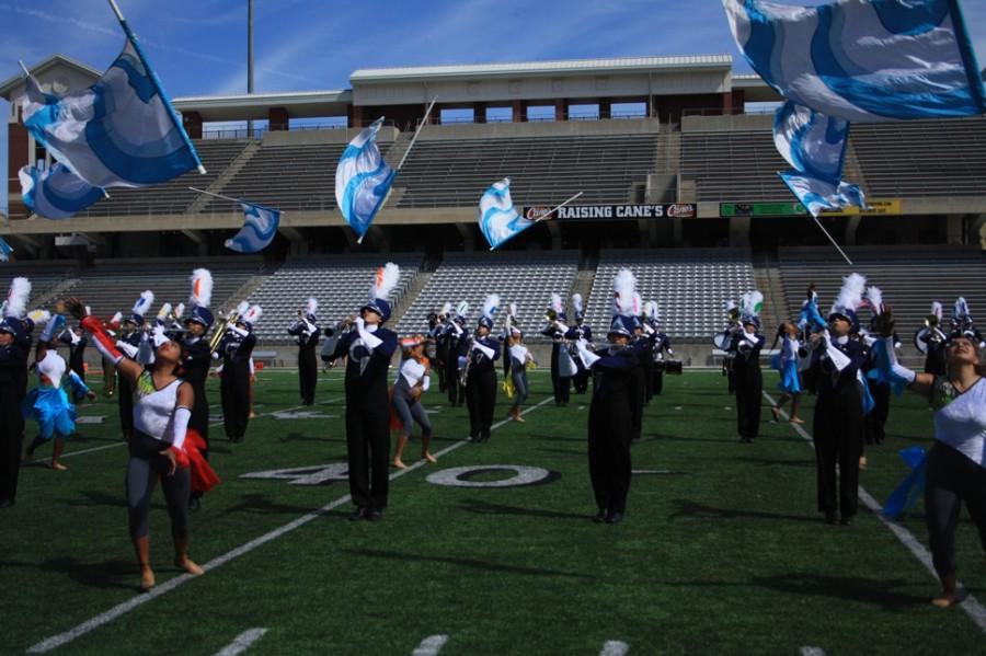 The Mighty Ram Marching Band Goes to UIL