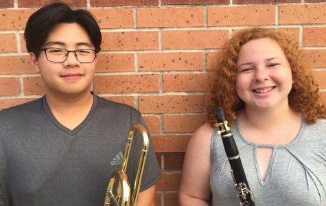 Two Musicians Advance to Area Competition