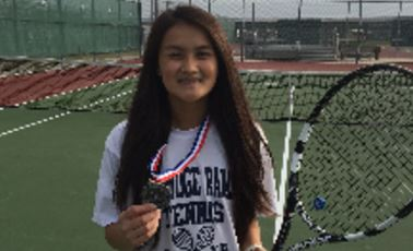 Kaitlyn Nguyen Scores Silver at Cy-Fair Tournament