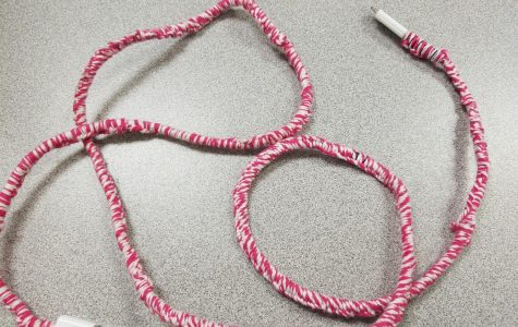This is what your charger cord should look like once completed!