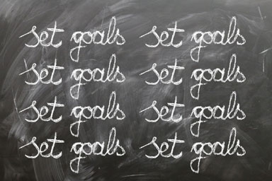 Setting goals is the key to being successful!
