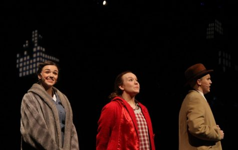 The Annie cast prepares themselves for their debut show opening, Thursday Jan. 26, during their final cast rehearsal.