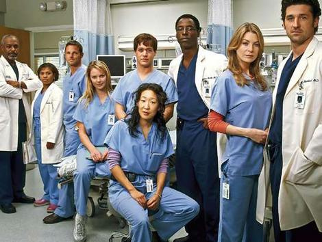 "Original  ""Grey's Anatomy"" cast."