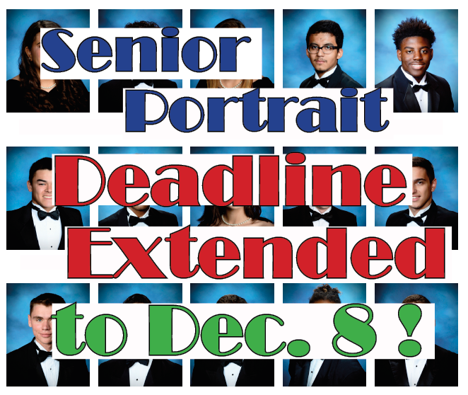 Take your portrait by Dec. 8 with Prestige Portrait in order to appear in the senior section of the yearbook. This is the FINAL opportunity! To take a picture, you MUST follow these instructions: https://cyridge.cfisd.net/en/parents-students/student-life/seniors/senior-portraits/ …  @CypressRidgeHS