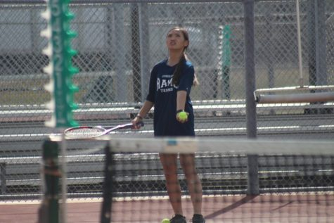 JV Tennis Team Takes the Court