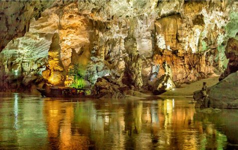 The largest natural cave called Son Doong that was first discovered in 1991 in Vietnam.