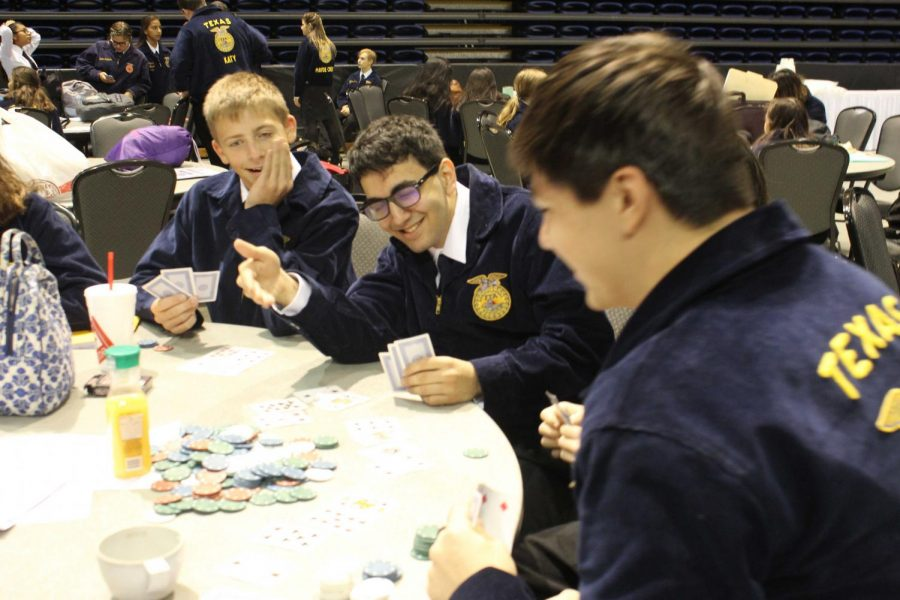 The FFA booster club competed during the year including creating an electric board, having their annual auctions and receiving certification in archery.