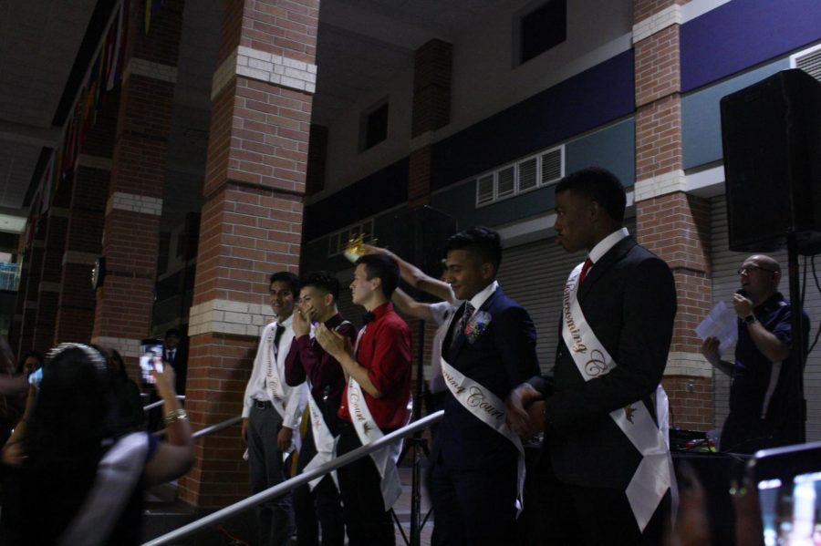 Students attend the annual homecoming dance on Oct. 14, 2018 to enjoy a night from studying