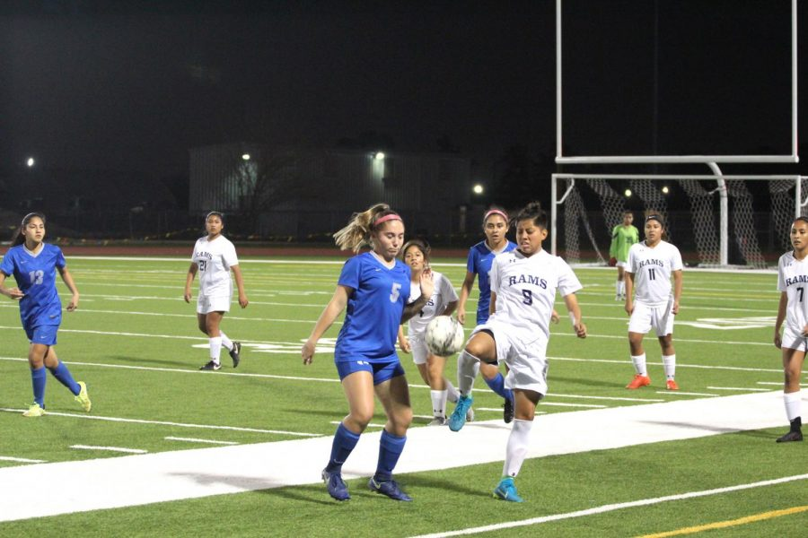 The Cypress Ridge girls soccer program kepped the mentality of going the extra mile which lead players to not only break angles during the 2017- 2018 session,but also to break school records.